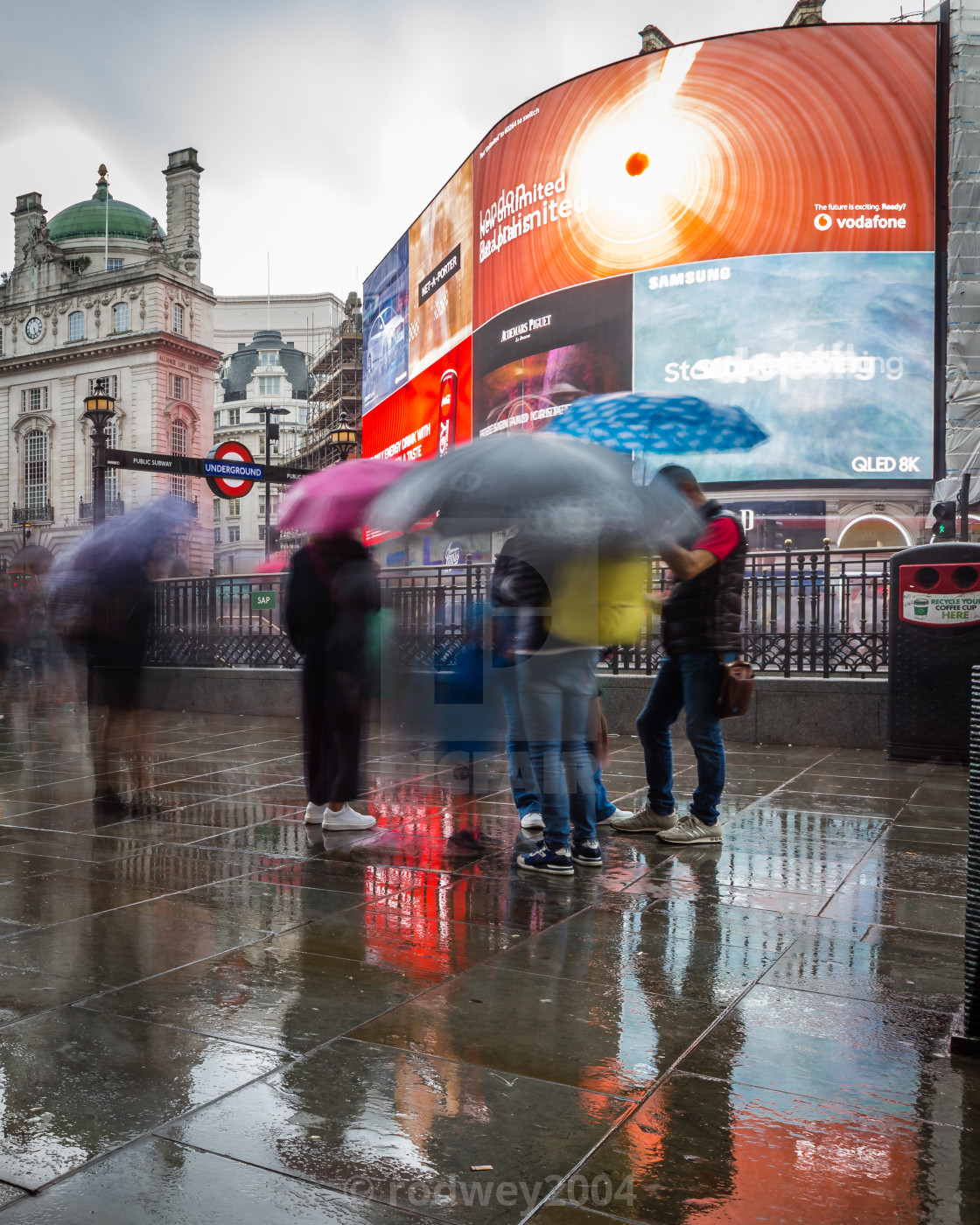 """Typical London weather"" stock image"