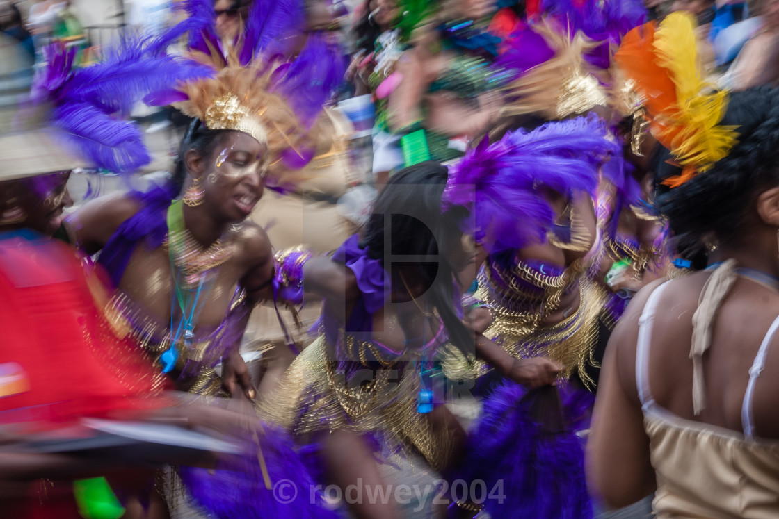 """The Colour Of Carnival"" stock image"
