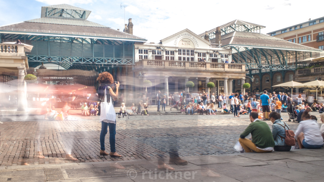 """""""Covent Garden Piazza"""" stock image"""