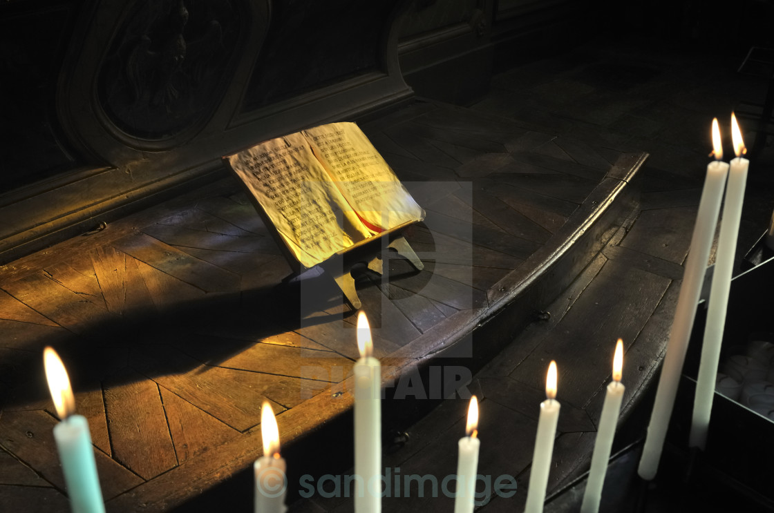 """tapers and ancient manuscrit"" stock image"