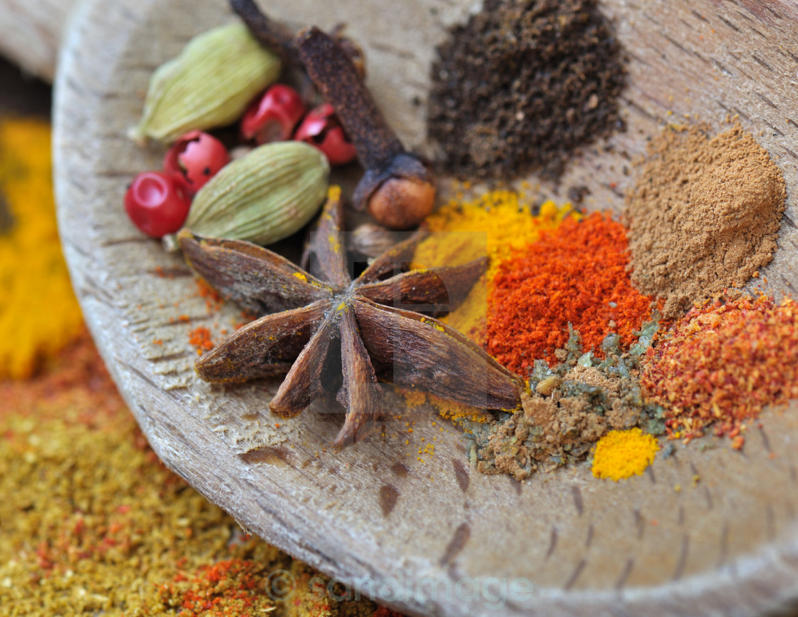 """colorful spices"" stock image"