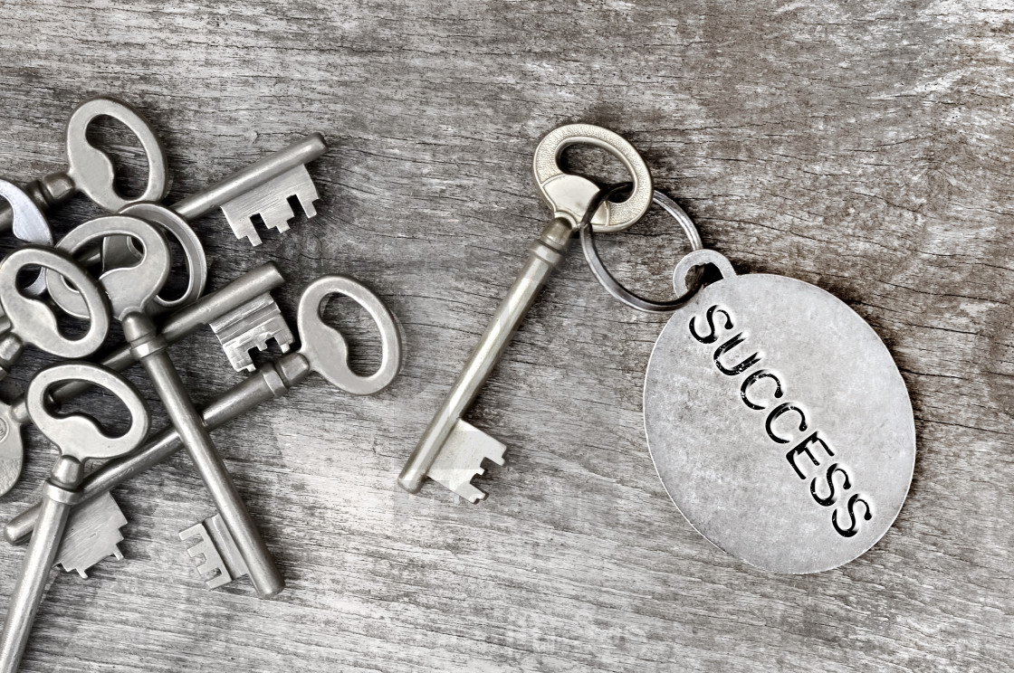 """key of success"" stock image"