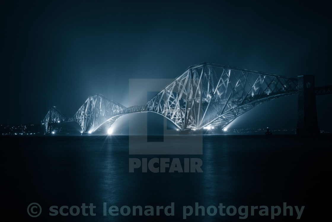 """Blue Bridge"" stock image"