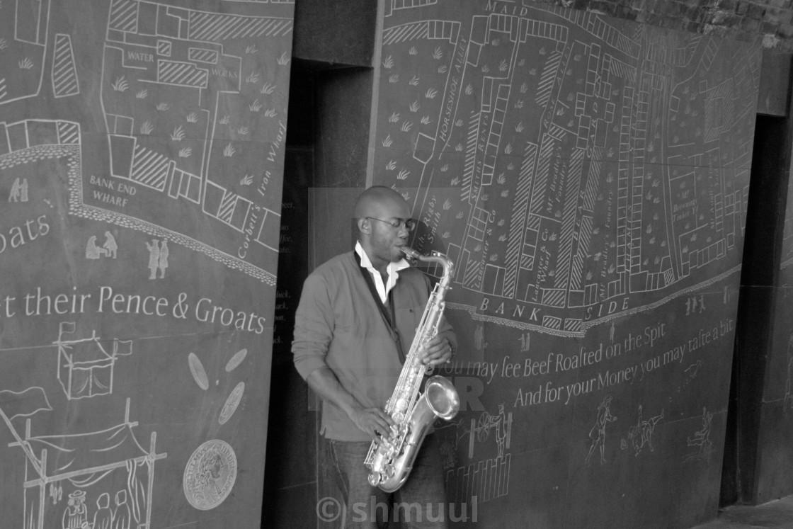 """Jazz Man"" stock image"