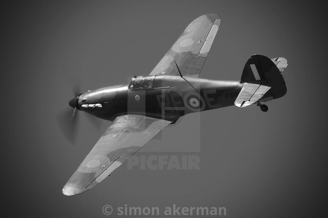 """Hawker Hurricane MK.1"" stock image"
