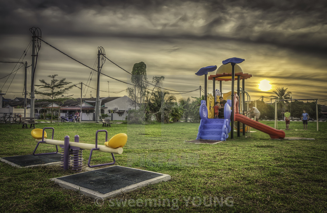 """Playground"" stock image"