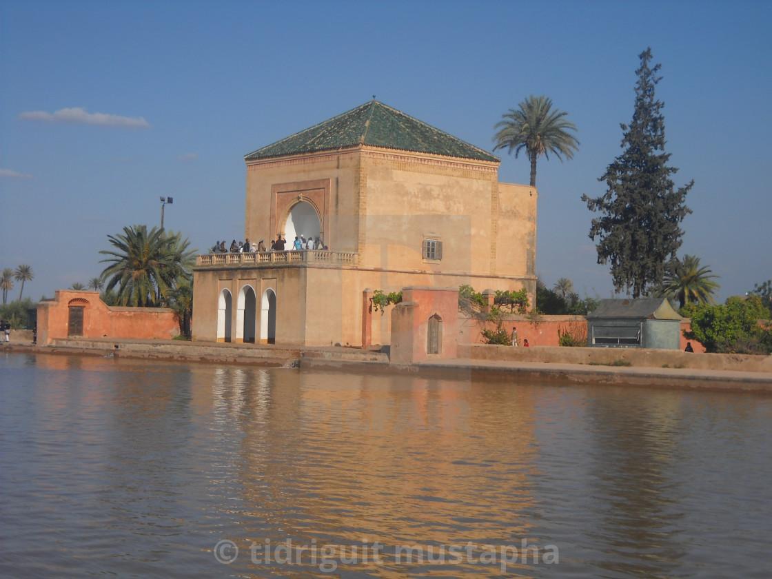 menara marrakech morocco - License for £12.40 on Picfair