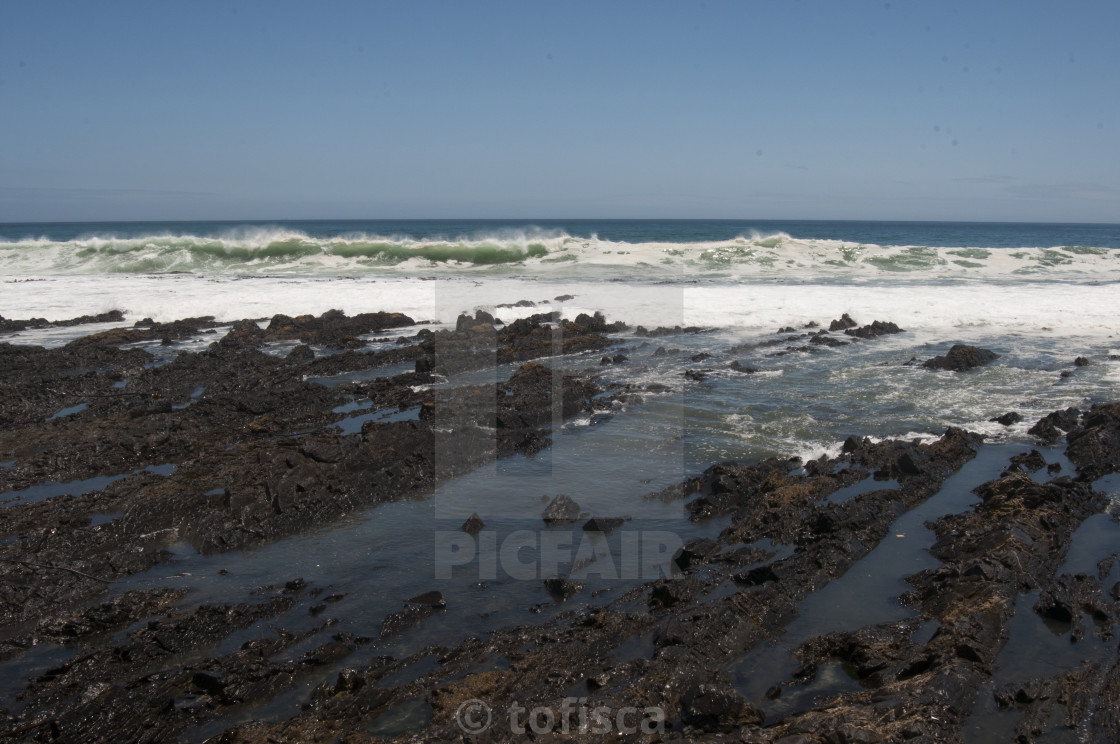 """Ocean in Cape town #1"" stock image"