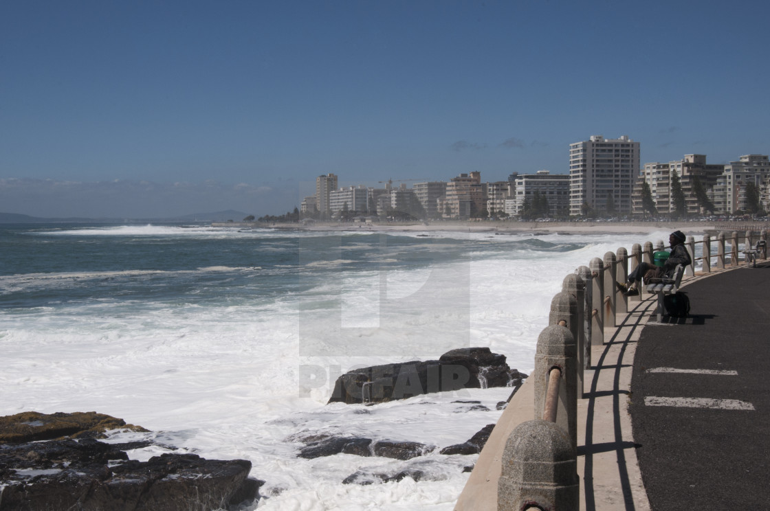 """Ocean in Cape town #4"" stock image"