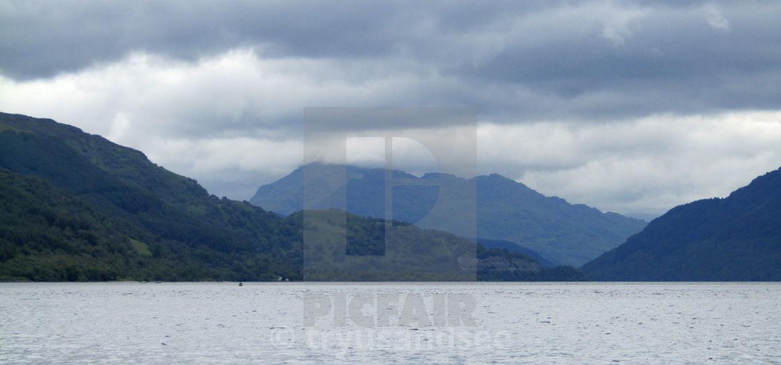 Loch Lomond mountain views