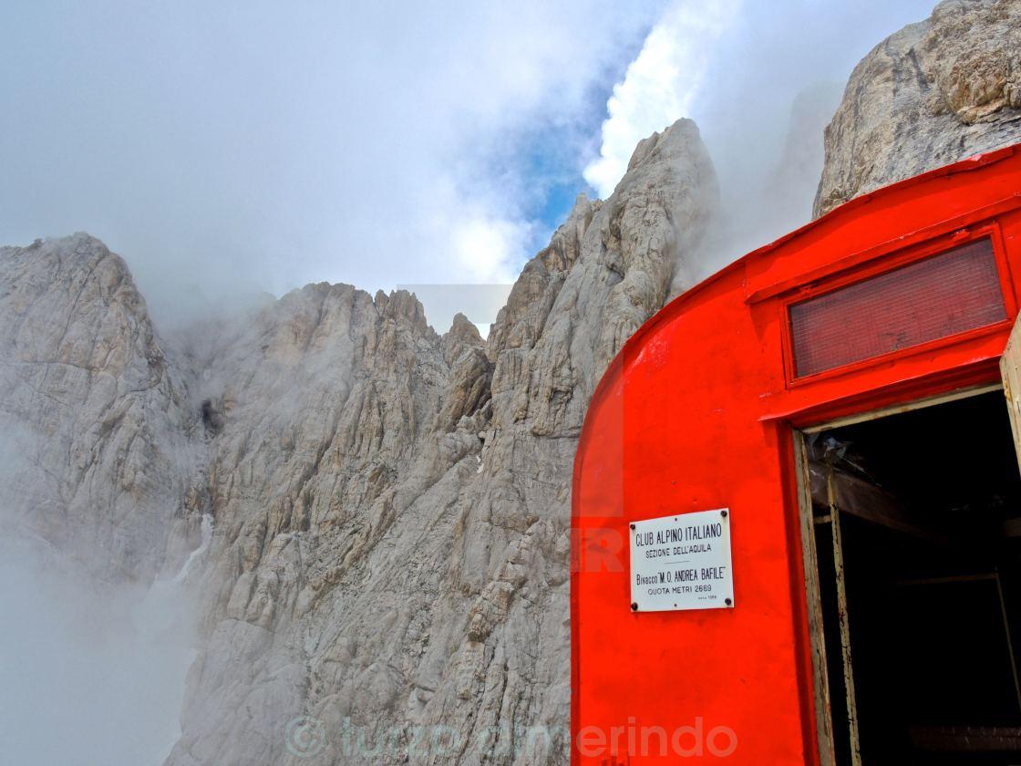 """""""Roccia del Gran Sasso"""" stock image"""