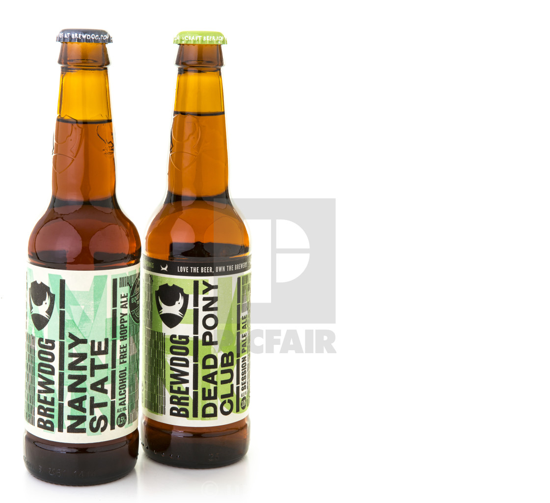Brewdog Nanny State >> Brewdog Nanny State And Dead Pony Club Bottled Beers On A