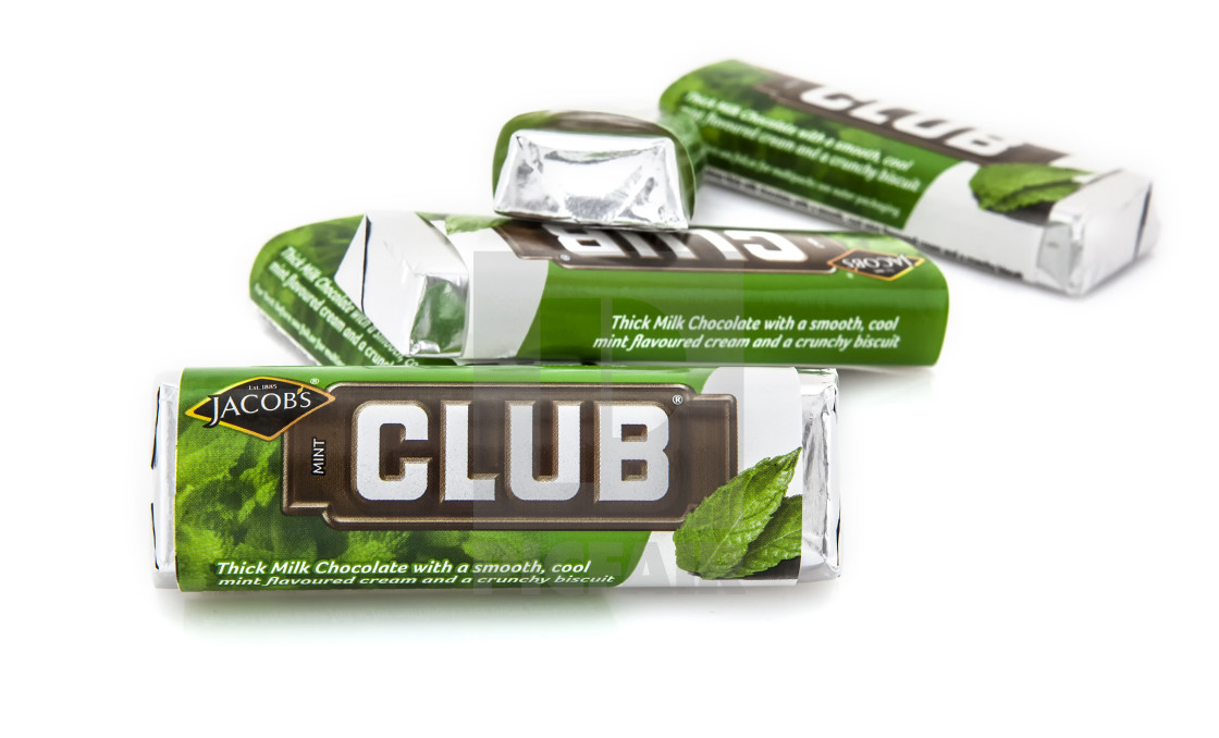 Jacobs Club Mint Chocolate License Download Or Print For