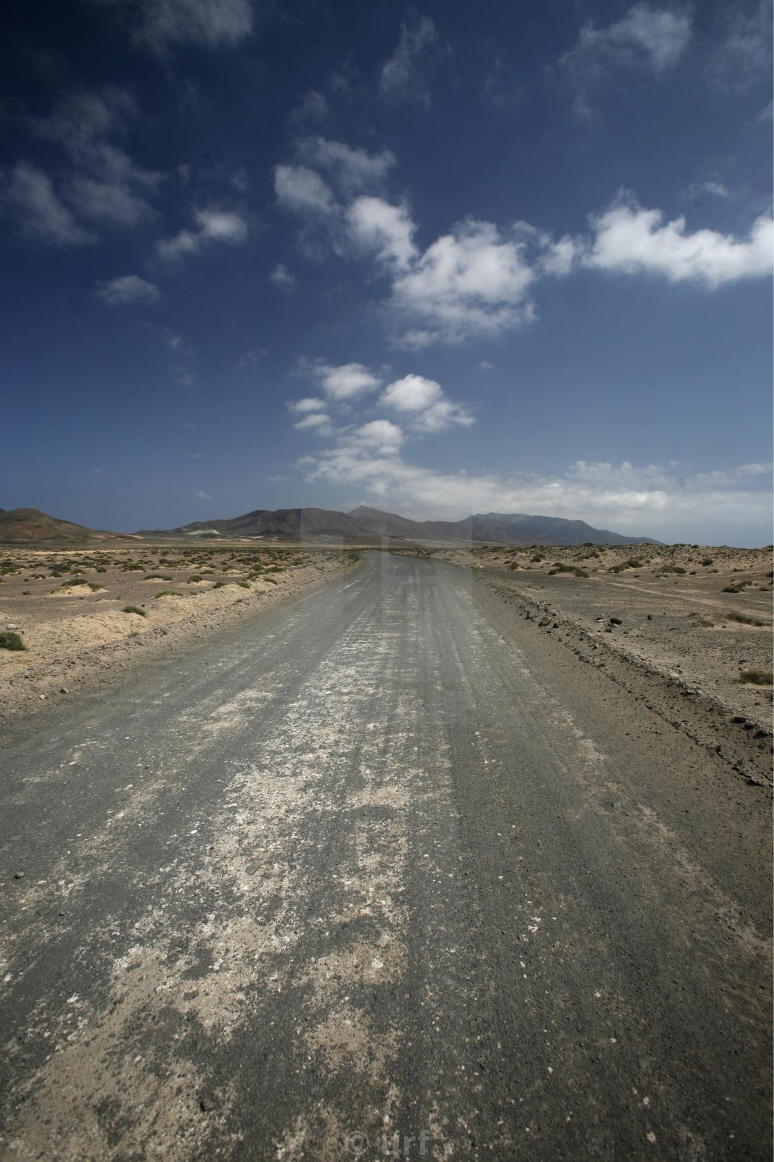 """EUROPE CANARY ISLANDS FUERTEVENTURA"" stock image"