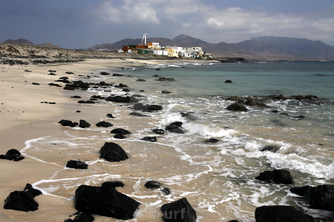 """EUROPE CANARY ISLANDS FUERTEVENTURA"" stock image"