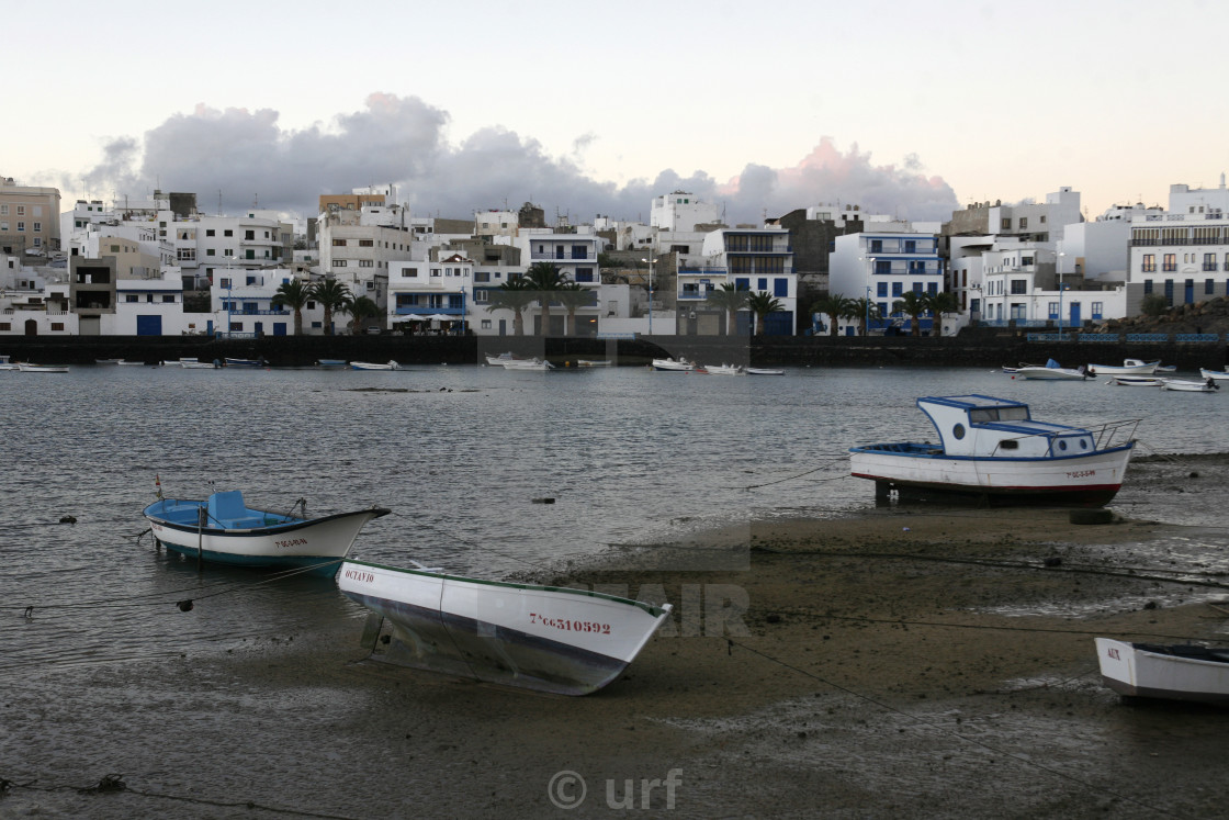 """EUROPE CANARY ISLANDS LANZAROTE"" stock image"