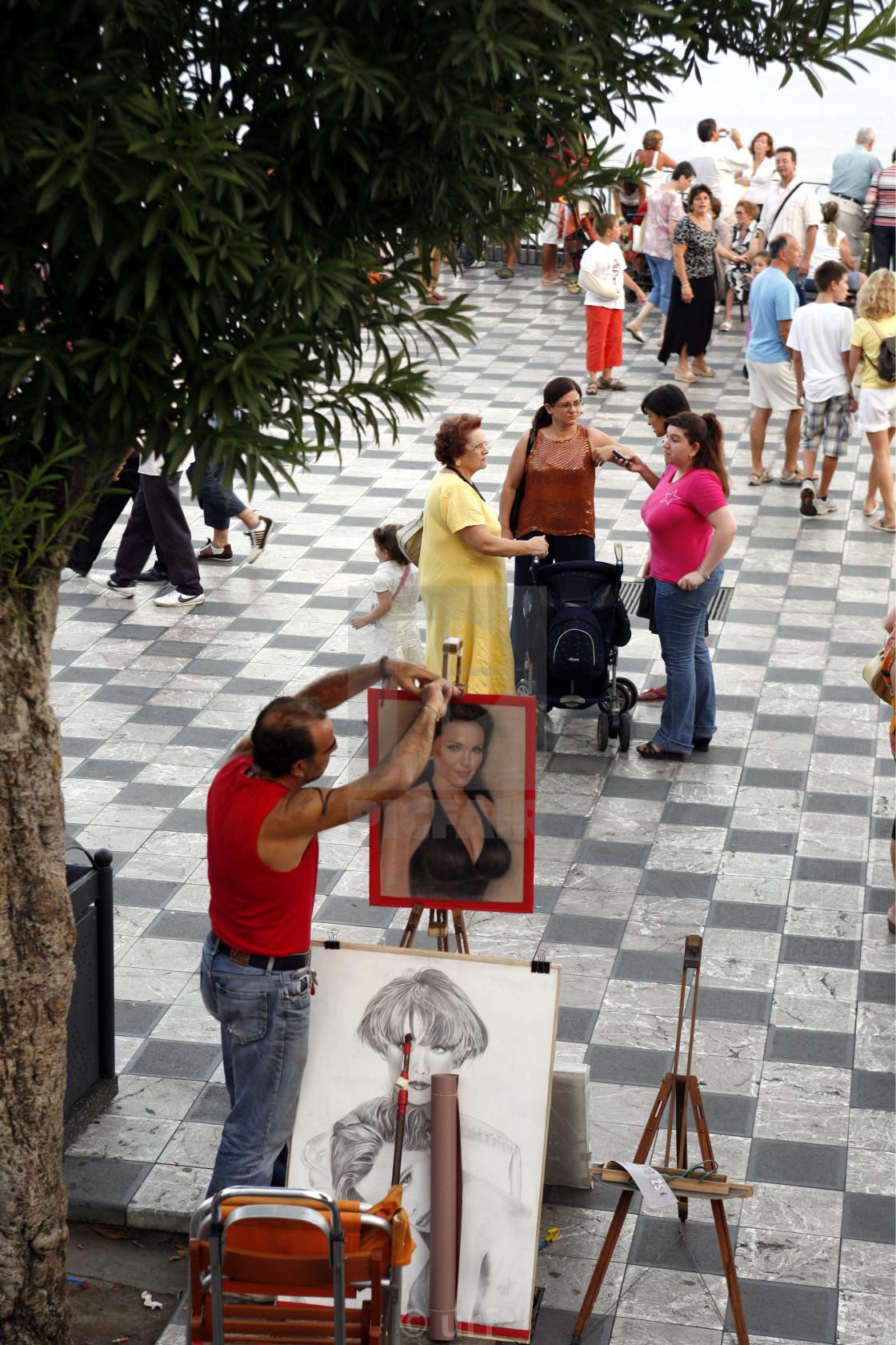 """""""Altstadt Piazza"""" stock image"""