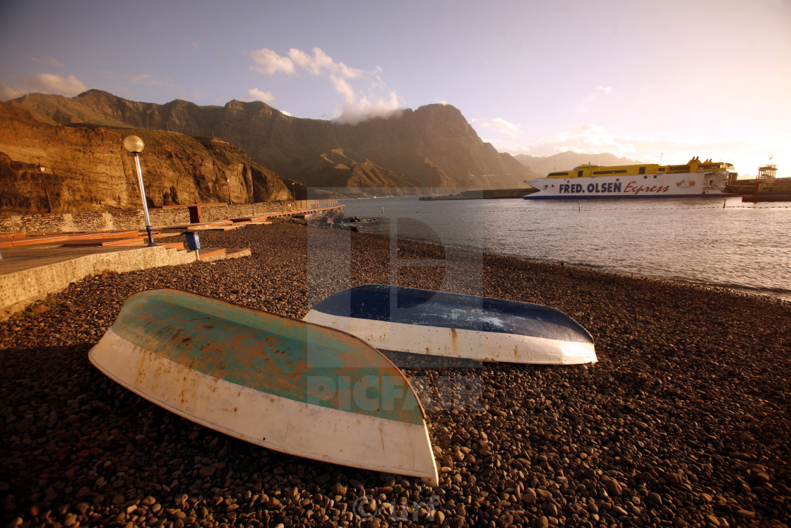 """EUROPE CANARY ISLAND GRAN CANARY"" stock image"