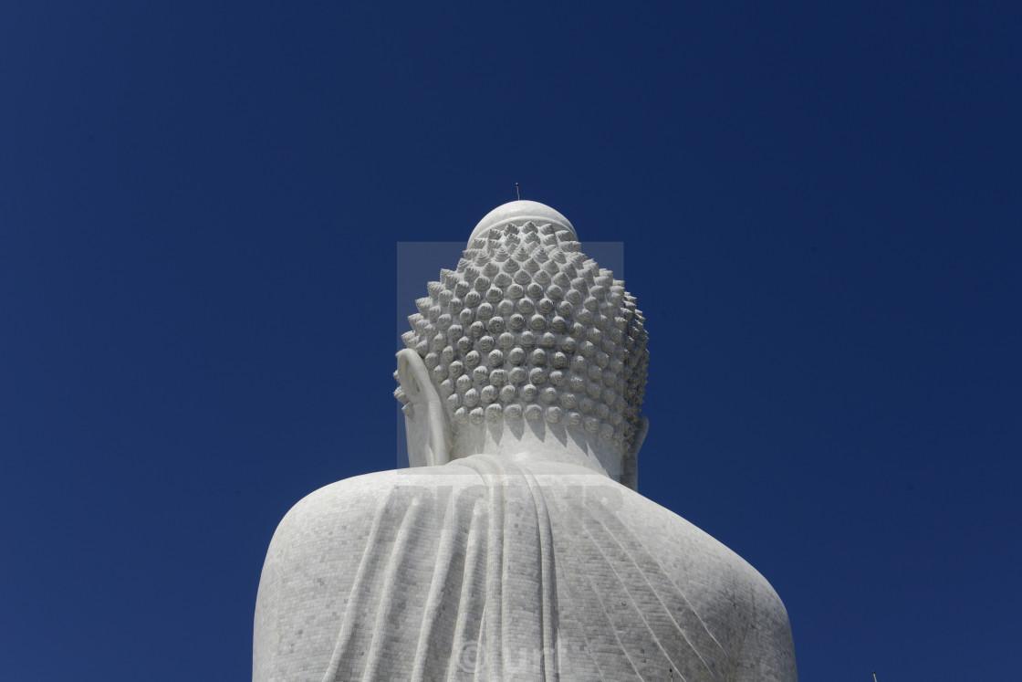 """ASIA THAILAND PHUKET WAT CHALONG BIG BUDDHA"" stock image"