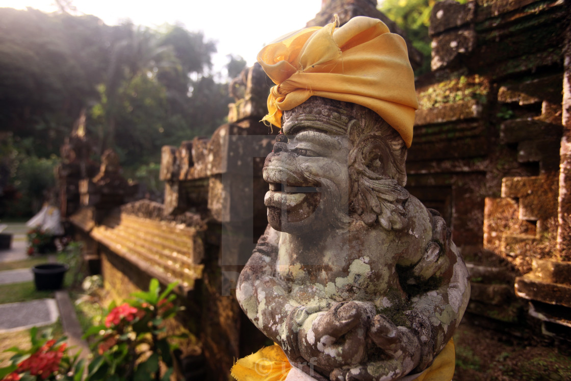Asia Indonesia Bali Ubud Goa Gajah Temple License Download Or