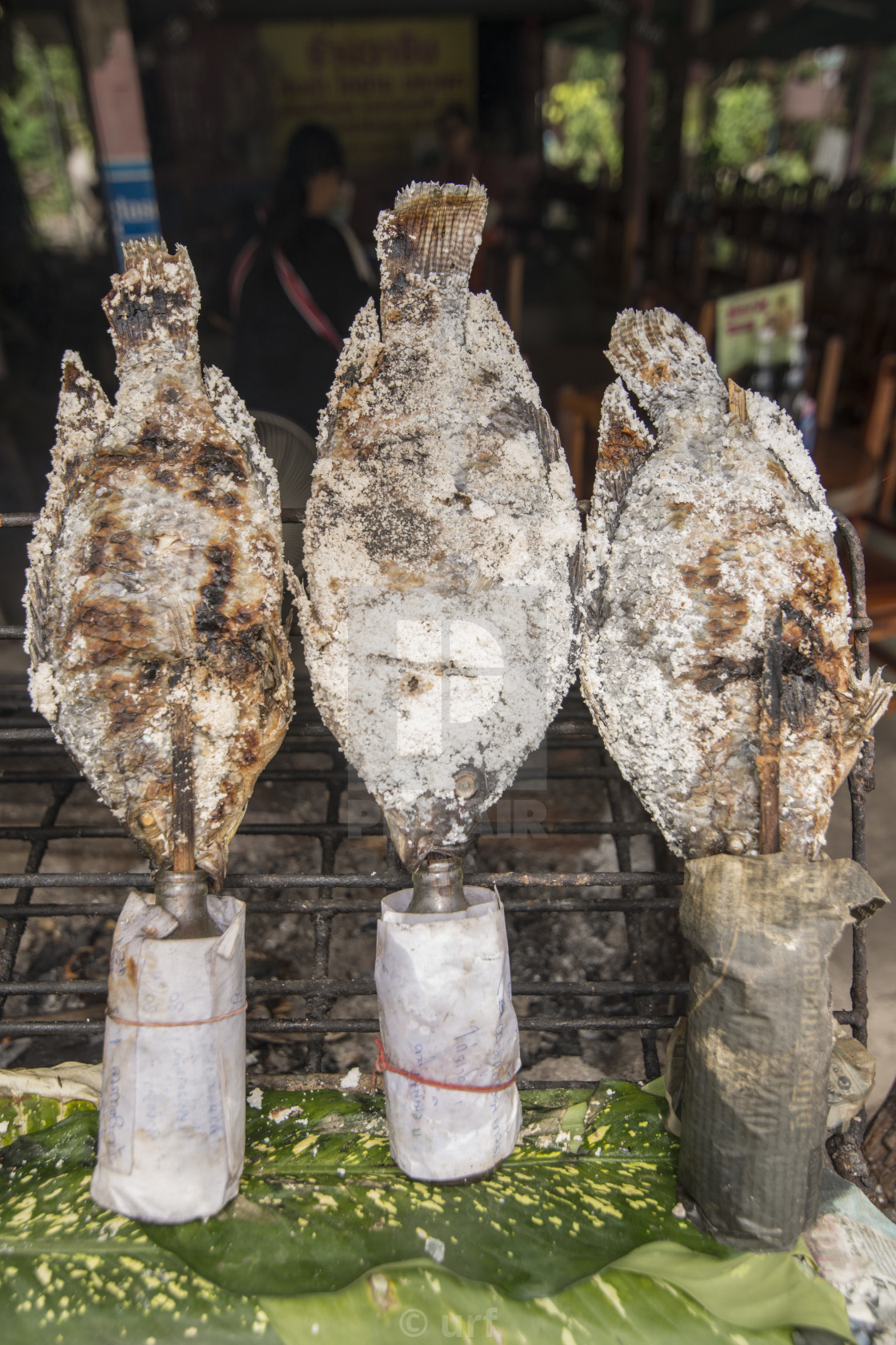 """THAILAND BURIRAM THAI FOOD SALT FISH"" stock image"