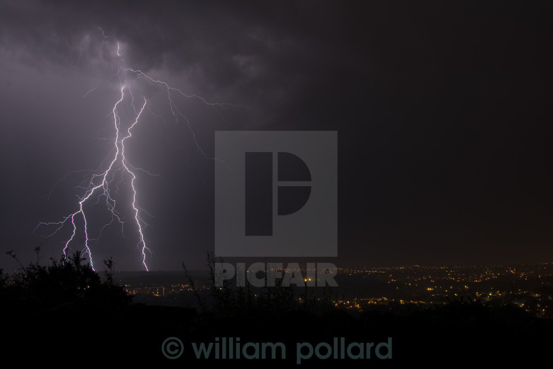 """bolts from the blue"" stock image"