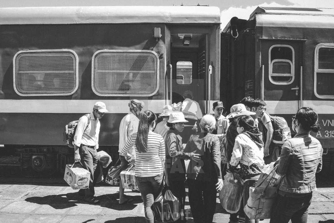 """Train station"" stock image"