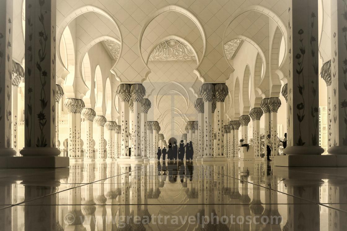"""""""School Children in Visit to Mosque"""" stock image"""