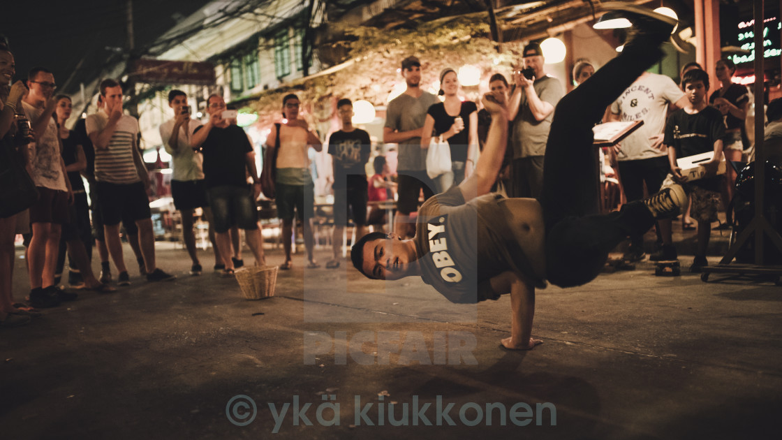 """Streetdancer"" stock image"