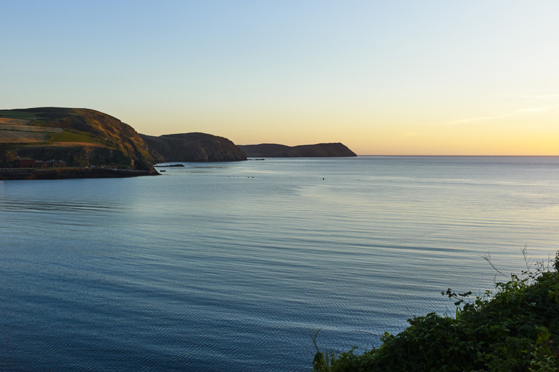 """Port Erin bay, Isle of Man"" stock image"