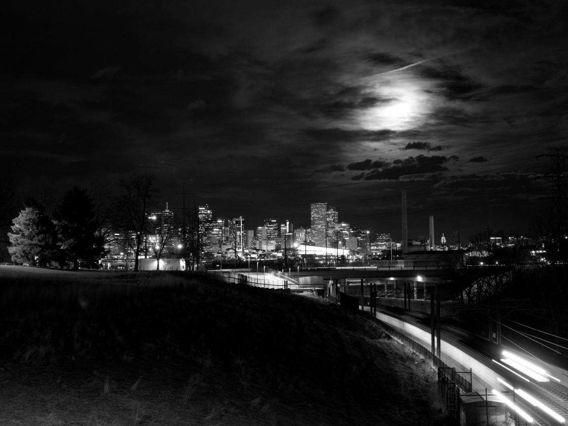 """Goodnight Denver"" stock image"