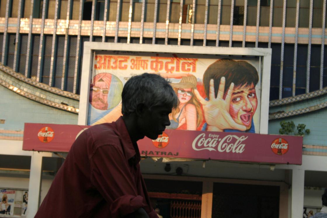 """Rickshaw driver, Varnasi, India"" stock image"