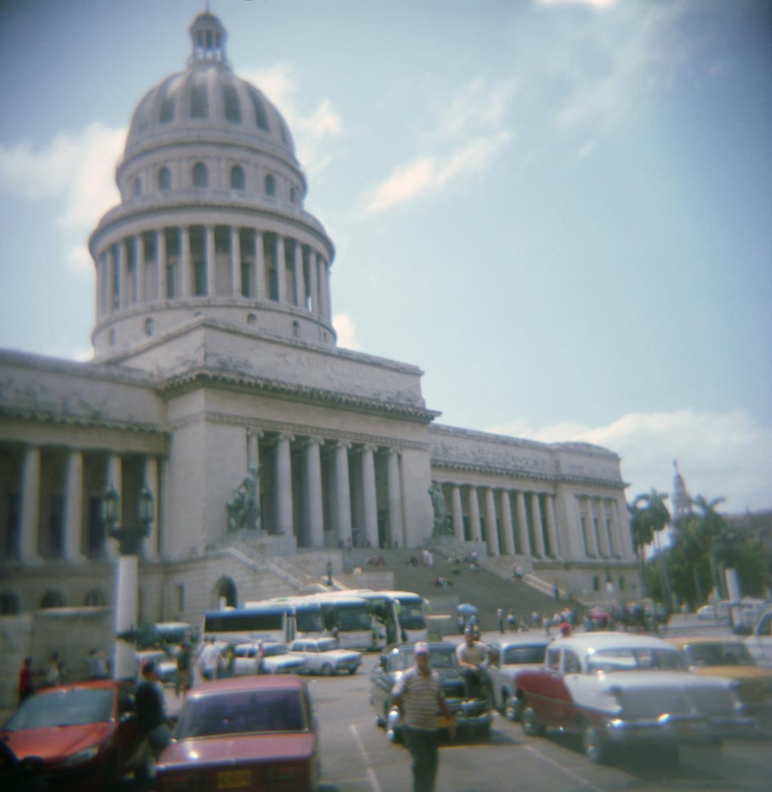 """The Capitol, Havana"" stock image"