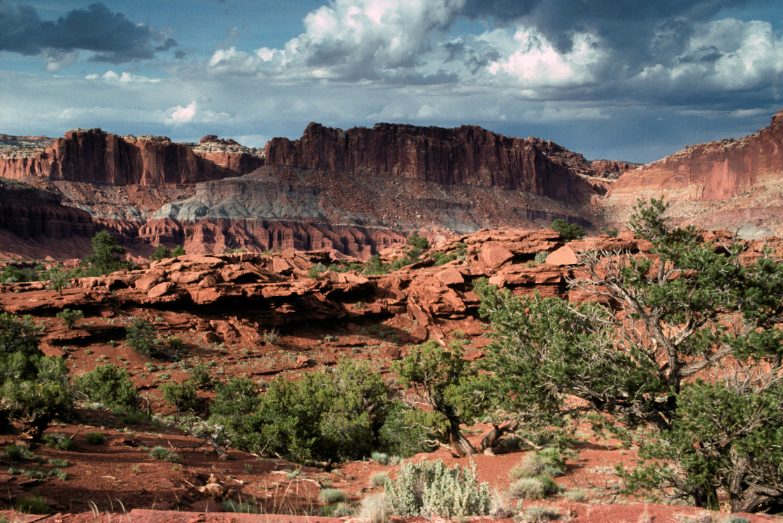 """Canyon lands, Utah"" stock image"