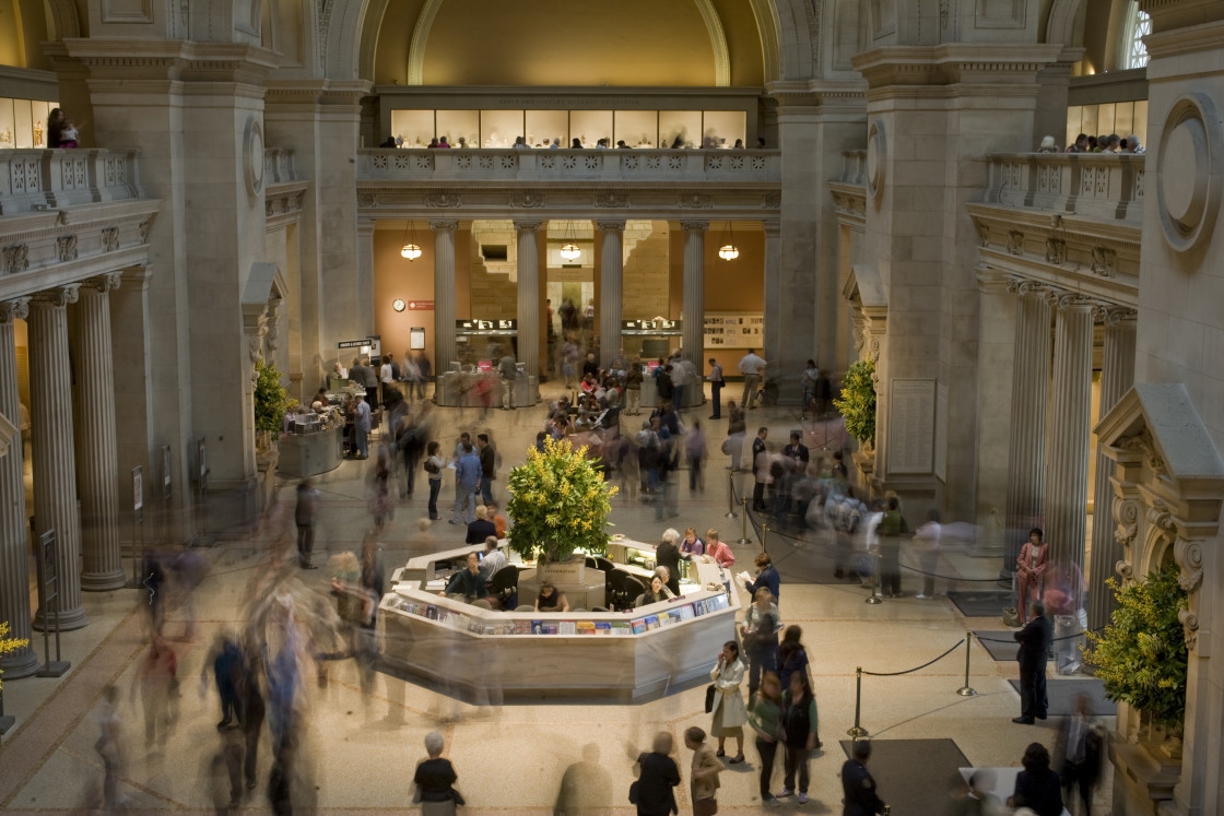 """Metropolitan Museum, New York"" stock image"