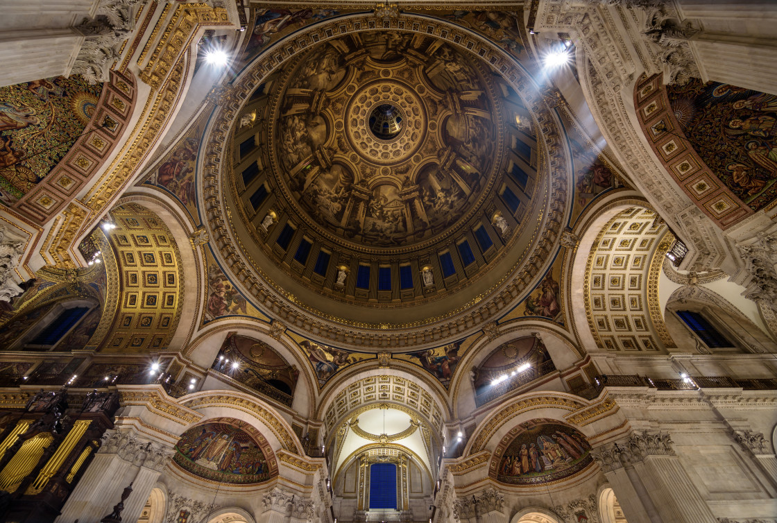 """St Paul's Cathedral - London"" stock image"