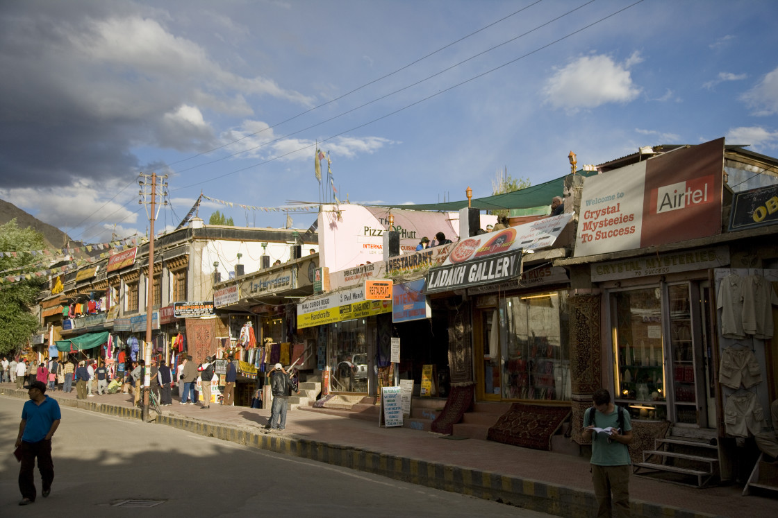 """Leh, Ladakh, India"" stock image"