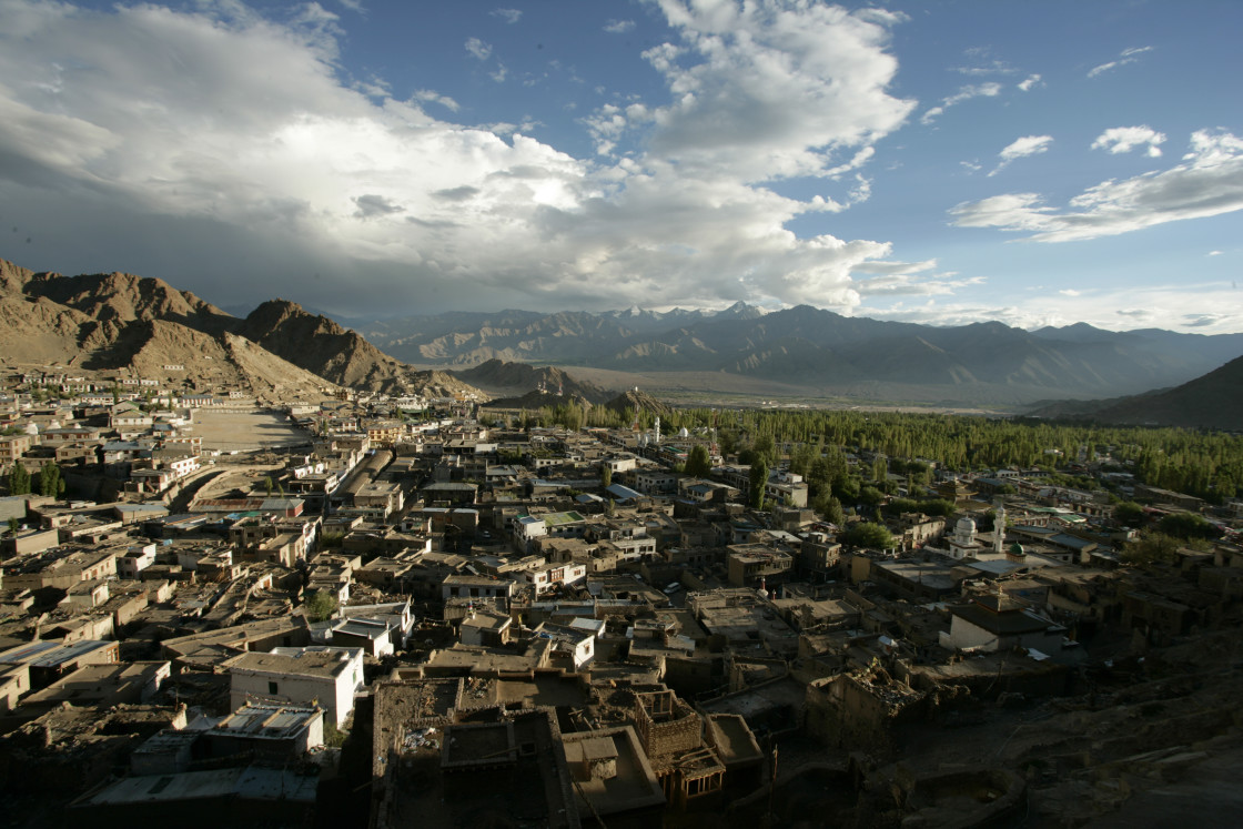 """Leh, Ladakh, India"" stock image"