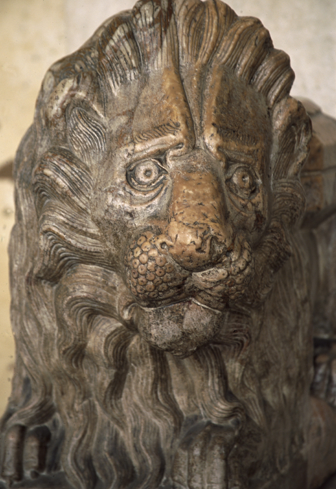 """Lion Sculpture, Rome, Italy"" stock image"