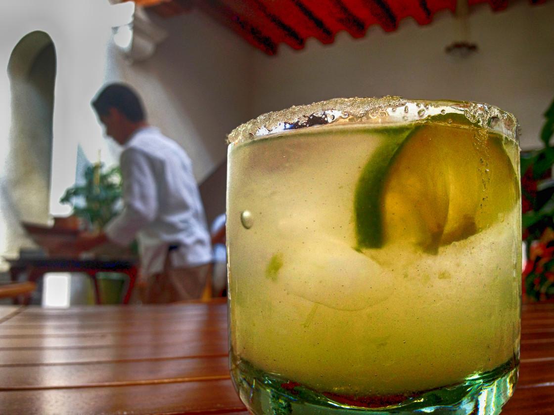 """""""Margarita, Restaurant, Mexico"""" stock image"""