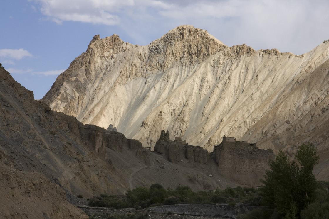 """""""Mountains, Ladakh, India"""" stock image"""