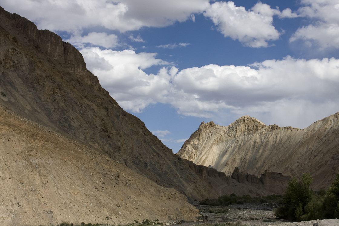 """Mountains, Ladakh, India"" stock image"