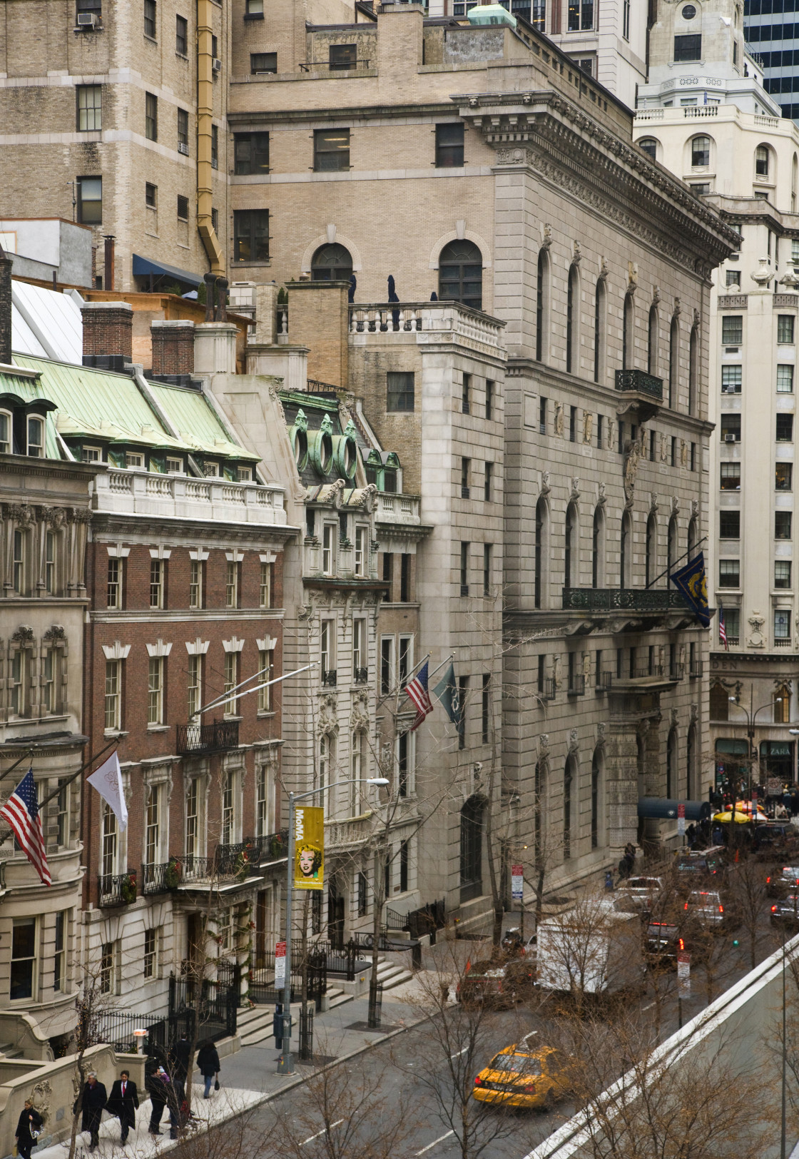 """New York Street."" stock image"