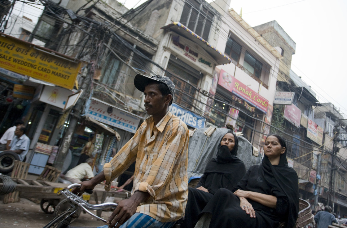 """Old Delhi, India_G3T7371"" stock image"