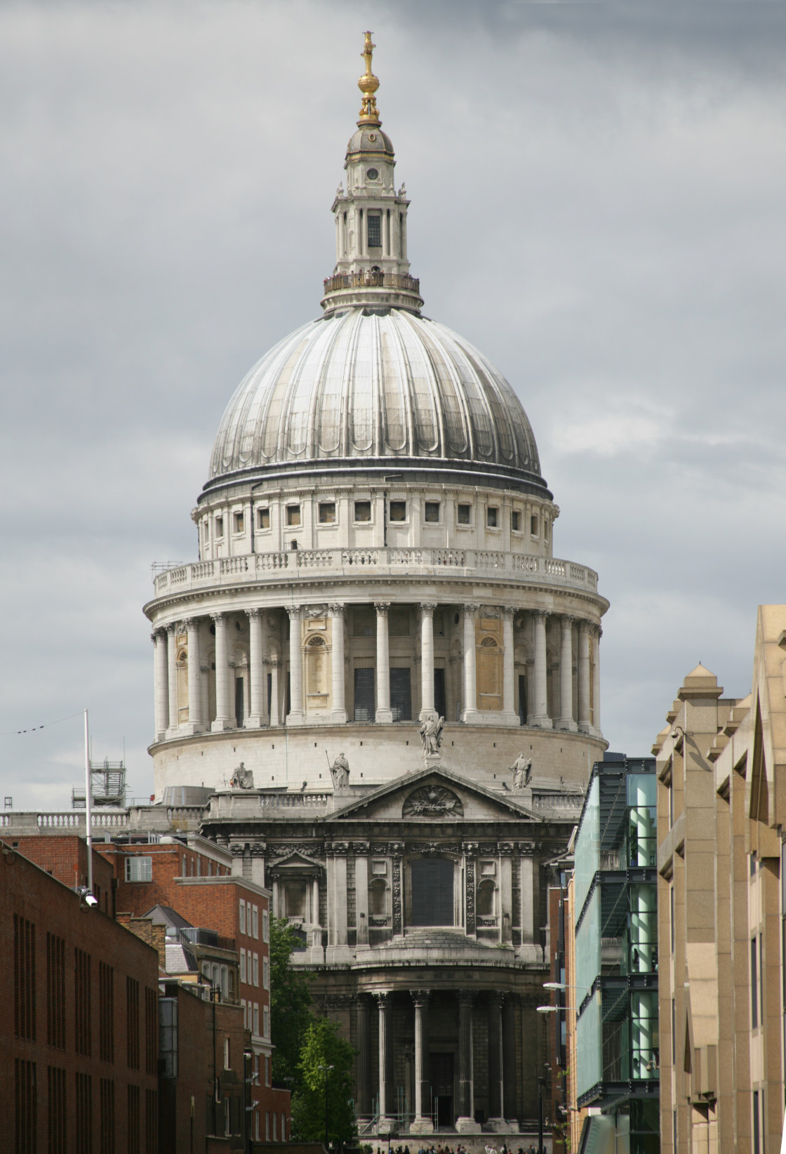 """St Pauls Cathedral, London"" stock image"