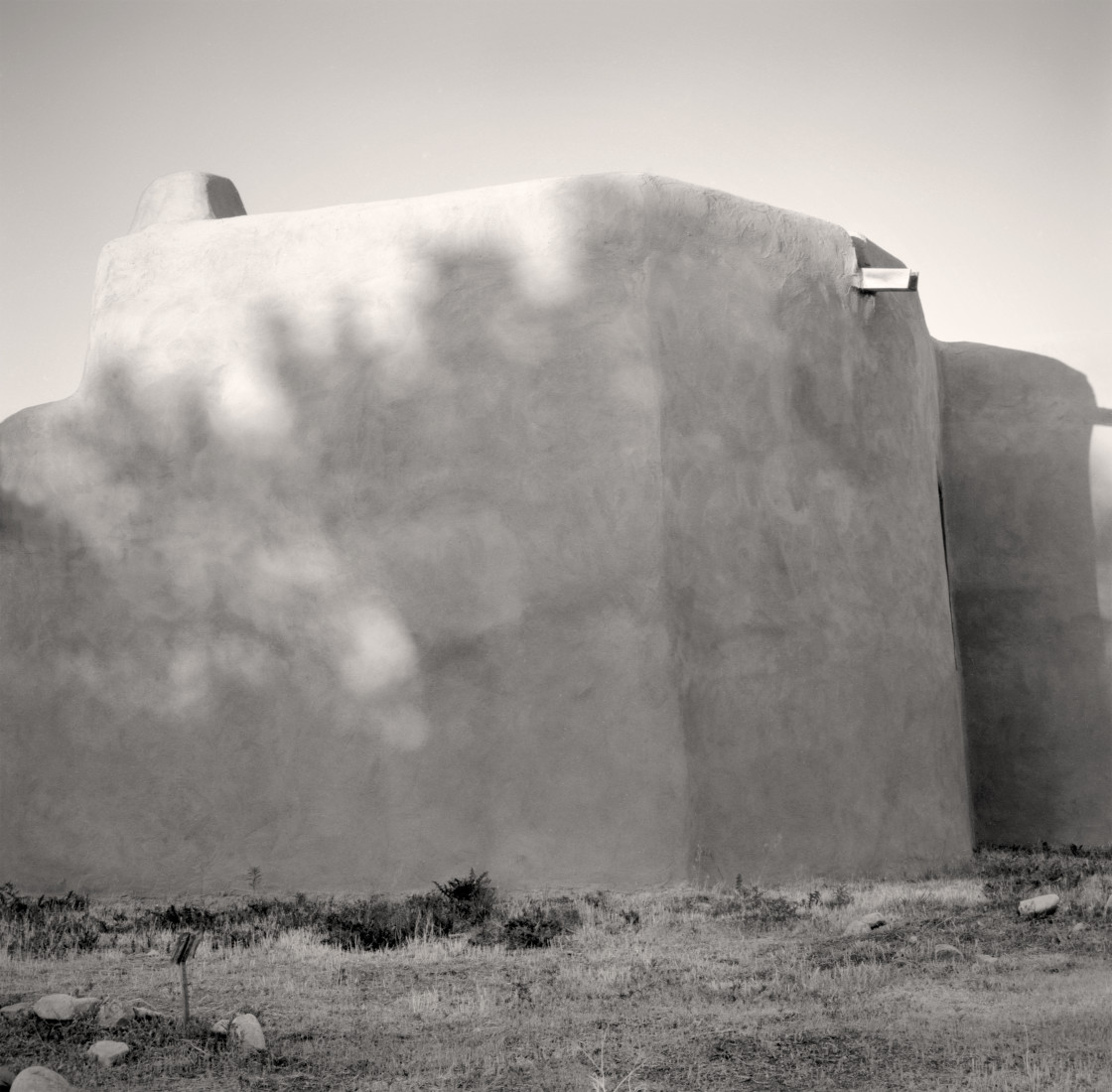 """Adobe Building, New Mexico"" stock image"