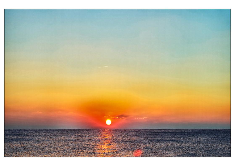 """Seaford Sunset No. 1"" stock image"