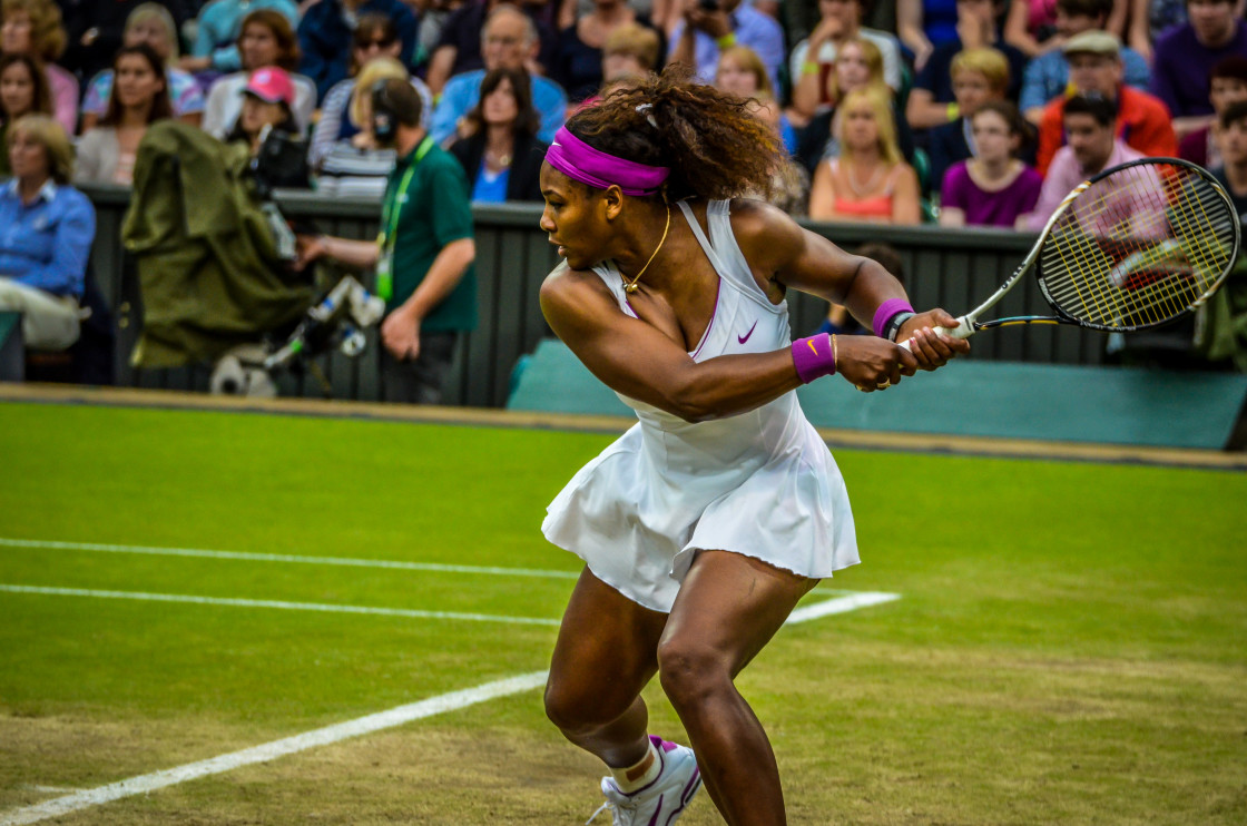 """""""Power Tennis -01"""" stock image"""