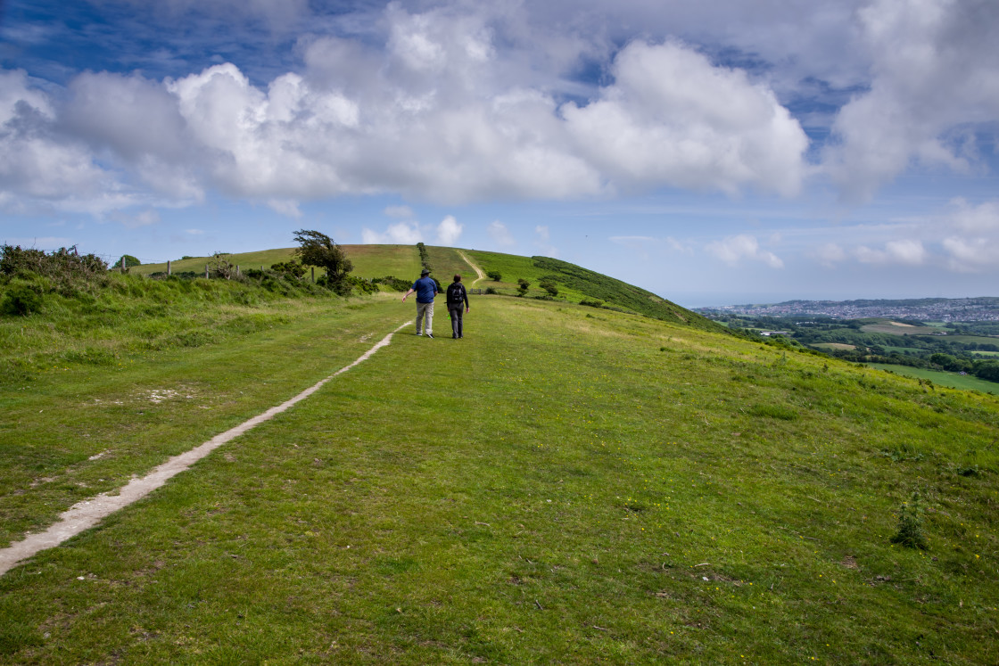 """""""Purbeck Way"""" stock image"""