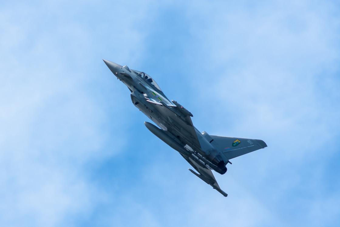 """""""Eurofighter Typhoon Jet"""" stock image"""